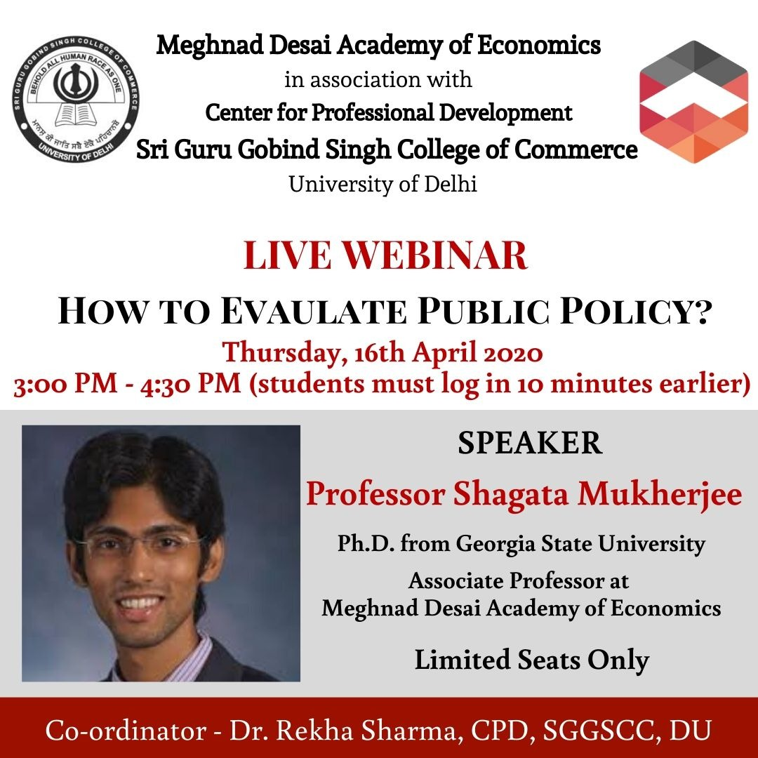 Webinar on Behavioural Economics and Nudge Theory